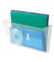 Universal 1-Pocket Letter Add-on for Wall File, Clear
