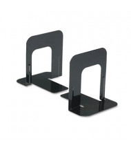 "Universal 5"" H Economy Standard Heavy Gauge Steel Bookends, Black"