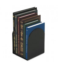 "Universal 7"" H Magnetic Metal Bookends, Black"