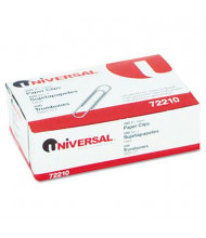 Universal No. 1 Smooth Finish Paper Clips, 100-Paper Clips