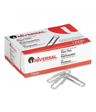 Universal No. 1 Wire Nonskid Paper Clips, 1000-Paper Clips