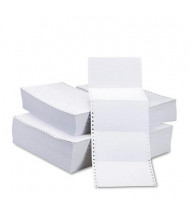 "Universal 4"" x 6"", 4000-Cards, Continuous Pin-Fed Postcard Paper"