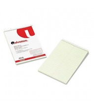 "Universal 6"" X 9"" 60-Sheet Gregg Rule Steno Notepad, Green Paper"