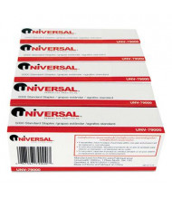 "Universal 20-Sheet Capacity Standard Chisel Point Staples, 1/4"" Leg, 5-Boxes, 5000/Box"