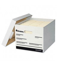 "Universal 15"" x 15"" x 10"" Letter & Legal Storage Boxes, 12/Carton"