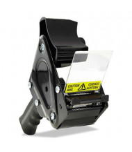 "Universal Box Sealing Tape Gun Dispenser, Black, 3"" Core"