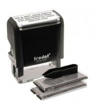 """Trodat Self-Inking Do It Yourself Message Stamp, 3/4"""" x 1-7/8"""", Black Ink"""