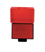 """Trodat T5430 Stamp Replacement Ink Pad, 1-5/8"""" x 1"""", Red Ink"""