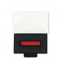 "Trodat T5440 Dater Replacement Ink Pad, 2"" x 1-1/8"", Red/Blue Ink"