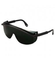 Uvex Astrospec 3000 Safety Glasses, Black Frame with Shade 5.0 Lens