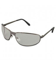 Uvex Tomcat Safety Glasses, Gun Metal Frame with Clear Lens