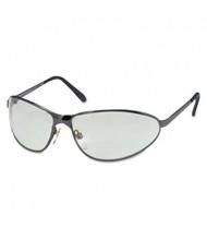 Uvex Tomcat Safety Glasses, Gun Metal Frame with Gray Lens