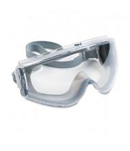 Uvex Stealth Antifog Antiscratch Antistatic Goggles, Gray Frame with Clear Lens