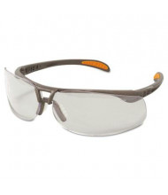 Uvex Protege Ultra-dura Anti-Scratch Safety Glasses, Sandstone Frame with Clear Lens