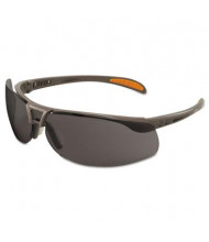 Uvex Protege Ultra-dura Anti-Scratch Safety Glasses, Sandstone Frame with Gray Lens