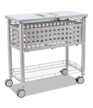 Vertiflex Smartworx 1-Shelf File Cart