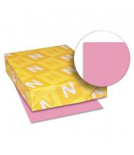 """Neenah Paper 8-1/2"""" x 11"""", 65lb, 250-Sheets, Pulsar Pink Card Stock"""