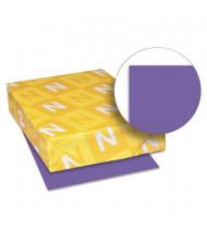 "Neenah Paper 8-1/2"" X 11"", 24lb, 500-Sheets, Gravity Grape Colored Printer Paper"