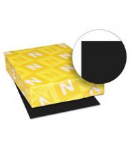 "Neenah Paper 8-1/2"" X 11"", 24lb, 500-Sheets, Eclipse Black Colored Printer Paper"
