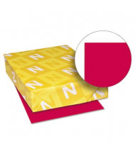 """Neenah Paper 11"""" X 17"""", 24lb, 500-Sheets, Re-Entry Red Colored Printer Paper"""