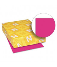 "Neenah Paper 8-1/2"" X 11"", 24lb, 500-Sheets, Fireball Fuchsia Colored Printer Paper"