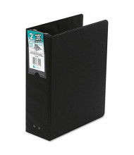 "Wilson Jones 2"" Capacity 8-1/2"" x 11"" Non-View Hanging Post Binder, Black"