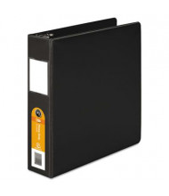 "Wilson Jones 2"" Capacity 8-1/2"" x 11"" Straight Ring Heavy Duty Non-View Binder, Black"