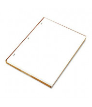 "Wilson Jones 8-1/2"" x 11"", 100-Sheets, White Minute Book Ledger Paper"
