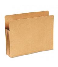 """Wilson Jones Letter 3-1/2"""" Expanding Recycled File Pocket, Kraft"""