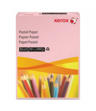 "Xerox 8-1/2"" x 11"", 20lb, 500-Sheets, Pink Multipurpose Colored Paper"