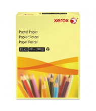 "Xerox 8-1/2"" x 11"", 20lb, 500-Sheets, Yellow Multipurpose Colored Paper"