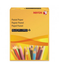 "Xerox 8-1/2"" x 11"", 20lb, 500-Sheets, Gold Multipurpose Colored Paper"