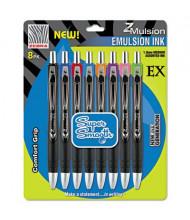 Zebra Z-Mulsion EX 1.0 mm Medium Ballpoint Pen, Assorted, 8-Pack