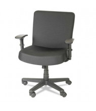 Alera Plus XL CP210 Big & Tall 500 lb. Fabric Mid-Back Task Chair