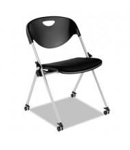 Alera Plus SL651 Polypropylene Plastic Nesting Stacking Chair, 2-Pack