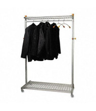 Alba 2-Sided 36-Garment Coat Rack
