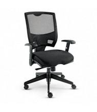 Alera Epoch EP42ME10B Synchro-Tilt Fabric Mesh Mid-Back Task Chair