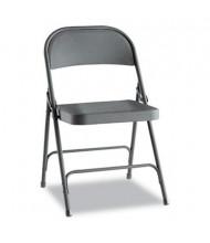 Alera FC94B Steel Folding Chair, 4-Pack