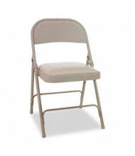 Alera FC94VY50T Padded-Seat Steel Folding Chair, 4-Pack