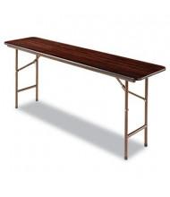 "Alera 72"" W x 18"" D Rectangular Wood Folding Table"