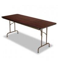 "Alera 72"" W x 30"" D Rectangular Wood Folding Table"