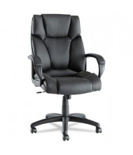 Alera Fraze FZ41LS10B Swivel Leather High-Back Executive Chair