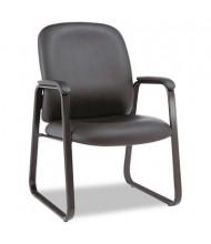 Alera Genaro GE43LS10B Sled Base Leather Guest Chair