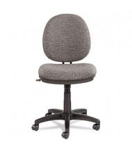 Alera Interval IN48 Swivel-Tilt Fabric Mid-Back Task Chair, Grey