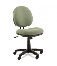 Alera Interval IN48 Swivel-Tilt Fabric Mid-Back Task Chair, Green