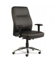 Alera LC LC4119 Self-Adjusting Leather Mid-Back Managers Office Chair