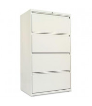 "Alera LF3054LG 4-Drawer 30"" Wide Lateral File Cabinet, Letter & Legal Size, Light Gray"