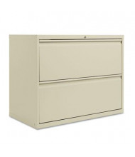 "Alera LF3629PY 2-Drawer 36"" Wide Lateral File Cabinet, Letter & Legal Size, Putty"