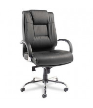 Alera Ravino RV44LS10C Big & Tall 450 lb. Leather High-Back Executive Chair