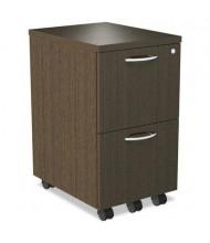 Alera SedinaAG SE521620ES 2-Drawer File/File Mobile Pedestal, Espresso
